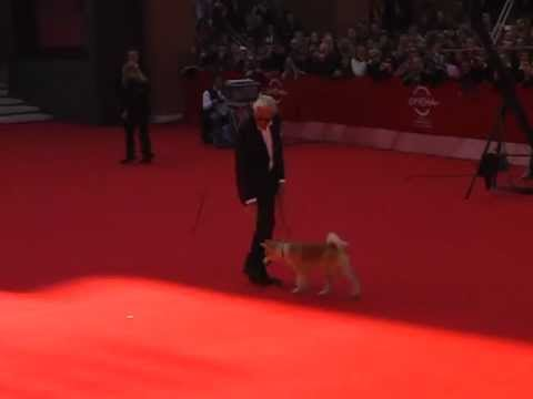 RICHARD GERE: Red carpet al Roma film festival