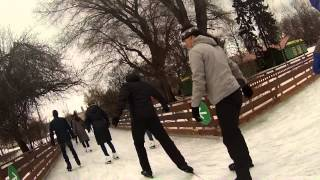Каток парк Горького Москва 2015
