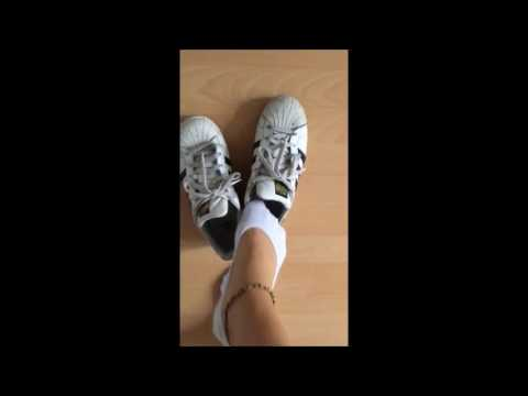 Patricia: 5 days - 5 shoes - one pair of socks :D (Tuesday: Adidas Superstar)