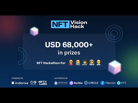 Your #NFT Hackathon with Rarbile, Circle, IPFS, Filecoin & HM Government of Gibraltar!