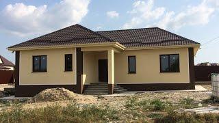 Строительство домов в пригороде Новороссийска(Одноэтажный дом. Строим на заказ в ближайшем пригороде Новороссийска., 2016-11-09T17:20:47.000Z)