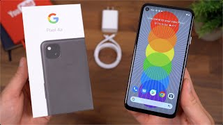 Google Pixel 4a Unboxing!