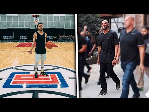 PLAYING ON THE CLIPPERS COURT! *FT. KOBE BRYANT*