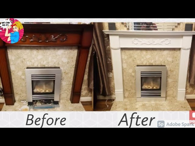 To Paint A Wooden Fireplace Surround, How To Sand A Wooden Fire Surround