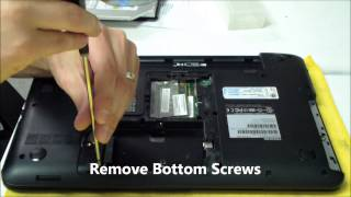toshiba satellite c855 ac dc power jack repair