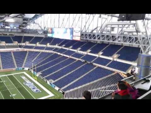 Ford Field Tour Detroit Lions Stadium
