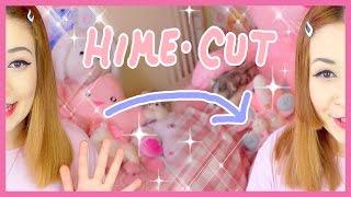 Giving Myself a Hime-cut!