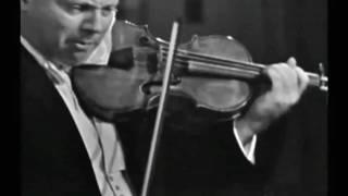 Isaac Stern - Bach Sonata No. 1 in G minor, BWV 1001 Adagio