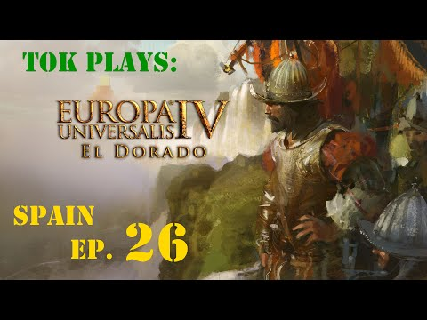 Tok plays EU4: El Dorado - Spain ep. 26 - War Of Palatinate Succession