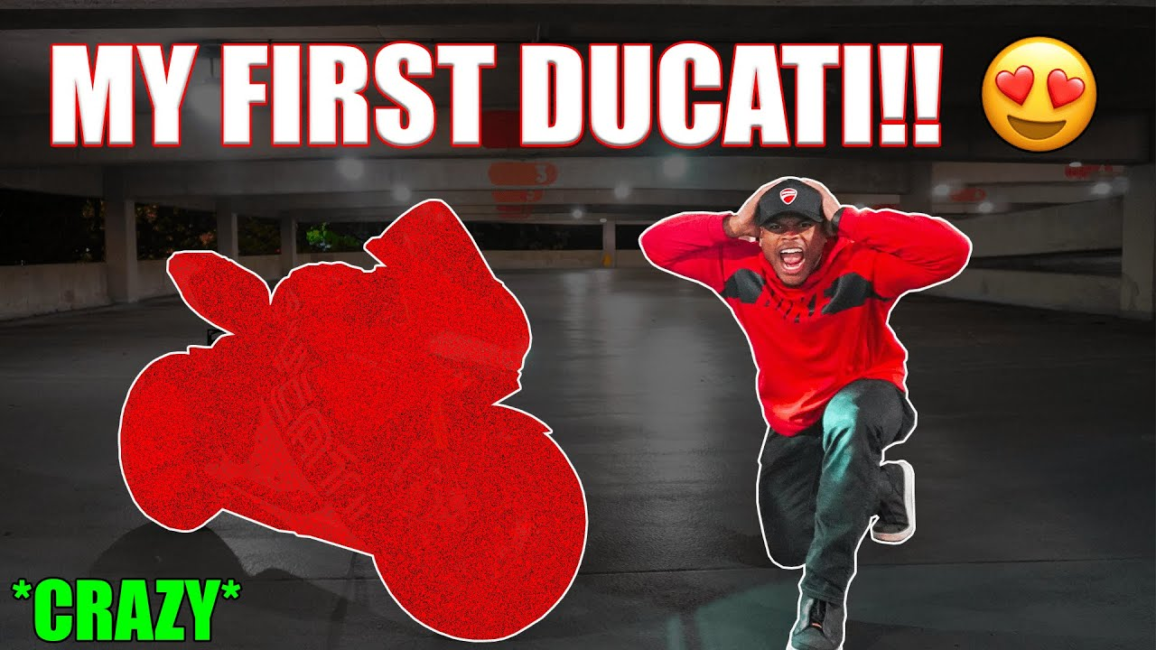Download REVEALING MY NEW DUCATI PANIGALE | Buying Dream Motorcycle *Disaster* | Panigale V4, V2, 1299, 959??