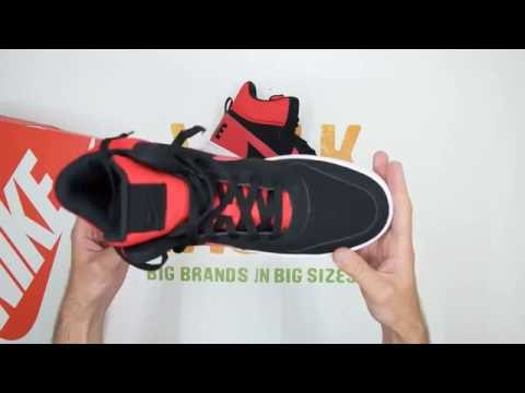 best sneakers 19104 f2a3f Nike Recreation Mid - Black  Red - Walktall  Unboxing  Hands on