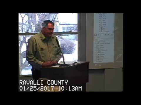 Ravalli County Hughes Creek County Road Public Hearing