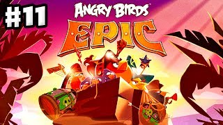 Angry Birds Epic - Gameplay Walkthrough Part 11 - Red Rescued! (iOS, Android)