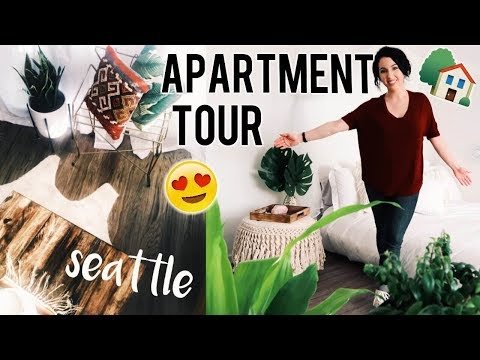 MY SEATTLE APARTMENT TOUR! 2017