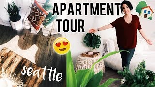 MY SEATTLE APARTMENT TOUR! 2017