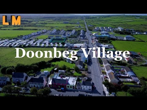 Doonbeg Village - From the Air - Mavic Pro 4k