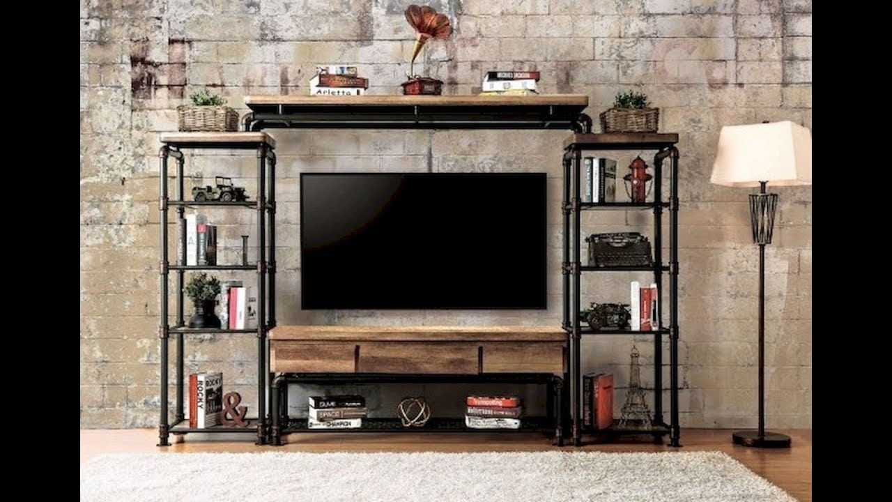 Diy Rustic Shabby Chic Style Tv Stand Home Decor Furniture Entertainment Center Ideas