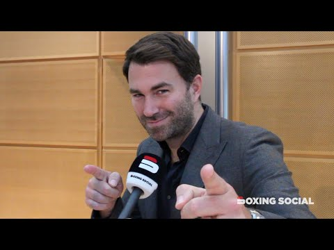 """FURY-SCHWARZ IS A TERRIBLE FIGHT!"" EDDIE HEARN ON DAZN PRICES, DOPING, WARRINGTON-GALAHAD & USYK"