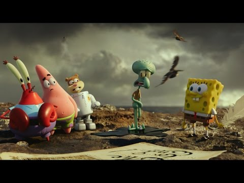 Spongebob: Sponge out of Water is available On Demand!