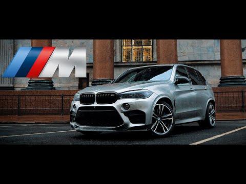 Девушка за рулем BMW X5M на 640 Л.С.