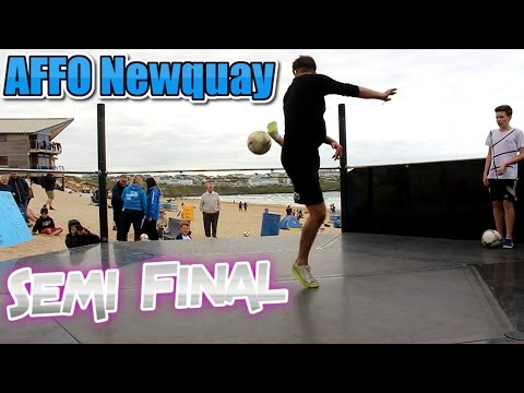 Atlantic Freestyle Football Semi-Final 2017 | Griffin Berridge vs Conor Reynolds