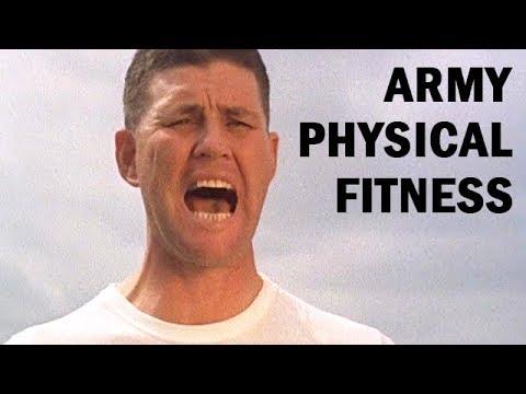 Army Physical Fitness Program   US Army Training Film   1967