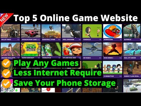 Top 5 Free Online Game Website | Play Any Games You Want In Mobile And Pc | 2020