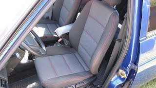 Тюнинг салона ВАЗ 2110. Установка водительского сиденья BMW E36