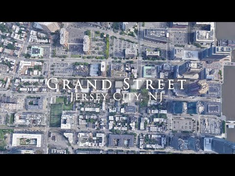 Grand Street, Jersey City, New Jersey, USA