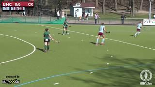 UHC Live - UHC vs. Raffelberg - 1. Damen Hockey Bundesliga - 08.04.2018 - 12.00 h
