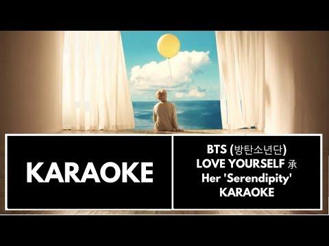 BTS (방탄소년단) LOVE YOURSELF 承 Her 'Serendipity' KARAOKE/INSTRUMENTAL (With BG Vocals)