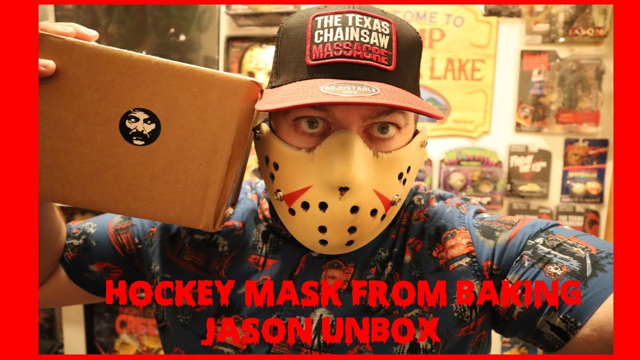 Hockey Mask PPE (Friday the 13th Jason Voorhees) Unboxing