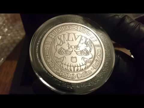 AG Silver Dojo Bullion Unboxing Silver Coin From Silver Skull Series