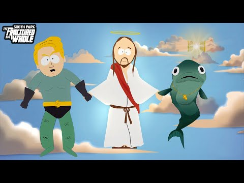 Gay Fish & Seaman & Jesus Scene - South Park: The Fractured But Whole