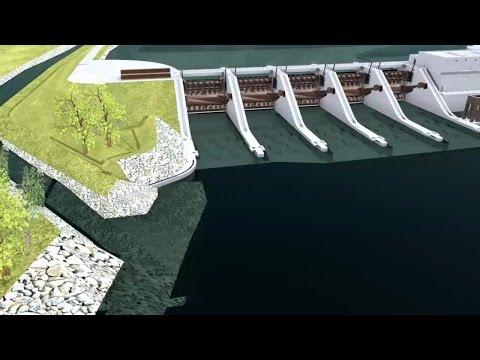 Vizualizacije akumulacijskega bazena HE Brežice
