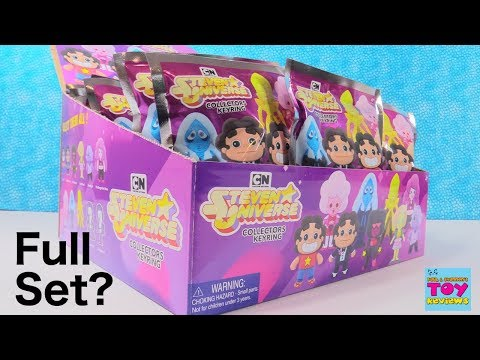 Steven Universe Cartoon Network Collectors Keyring Full Box Opening Review | PSToyReviews