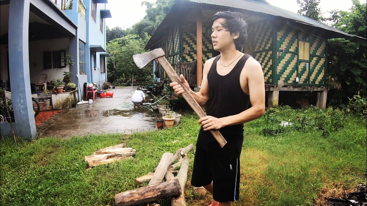 Cutting FireWood For Monsoon | Tribal Life Style ❤😊 | Part 2 | Arunachal Pradesh | Lenzing Weekly |