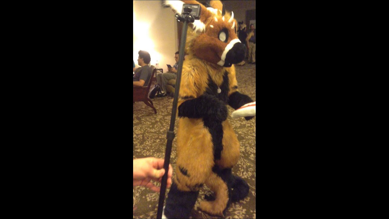 Anthrocon 2012 - Fursuit Dance Competition - Sparky - YouTube