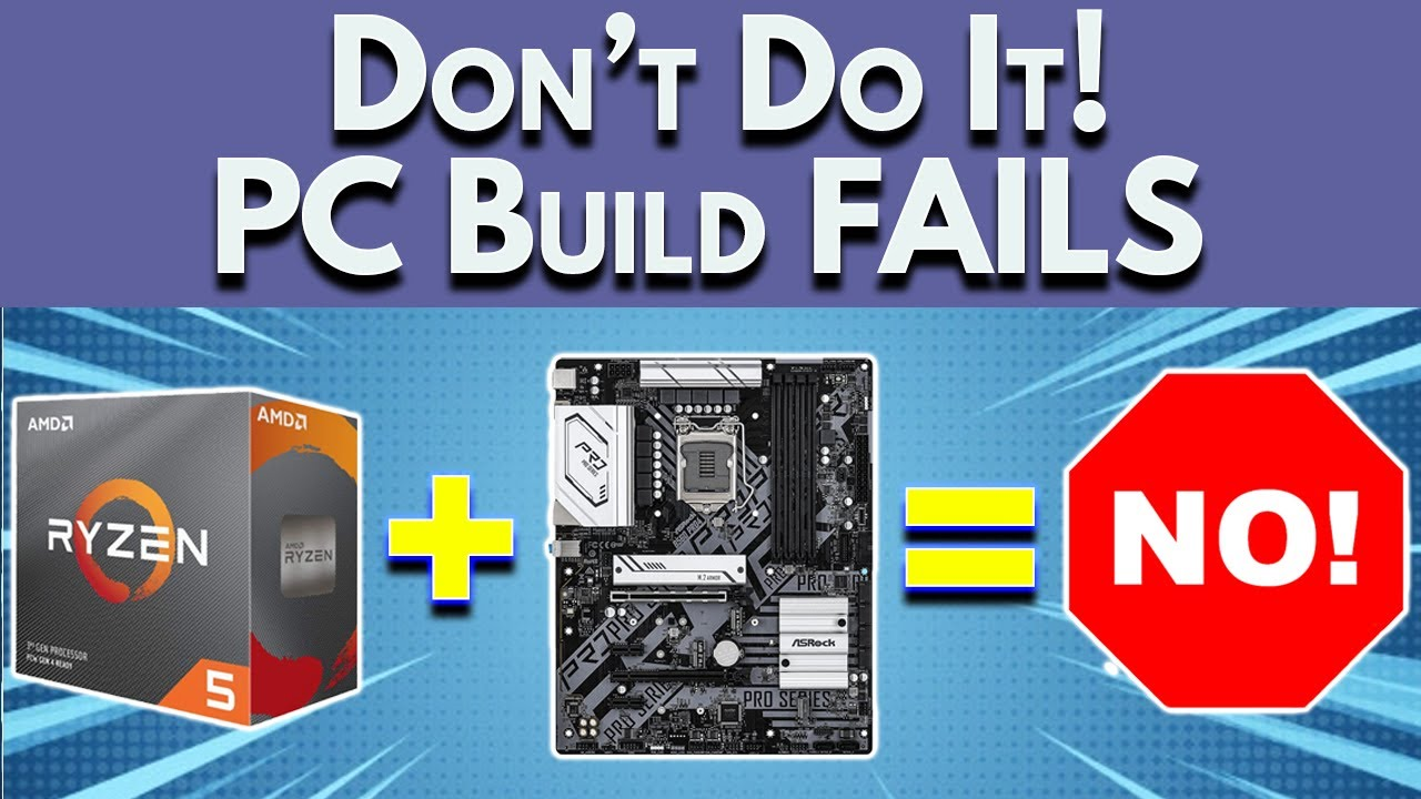 Avoid These PC Build FAILS - Boost My PC Build (2021)