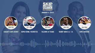 UNDISPUTED Audio Podcast (1.3.18) with Skip Bayless, Shannon Sharpe, Joy Taylor | UNDISPUTED thumbnail