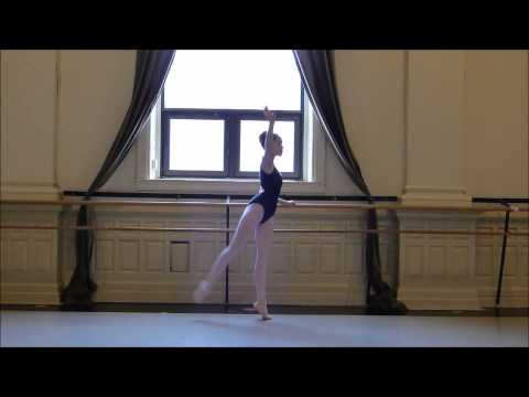 The Washington School of Ballet Audition Video 2015