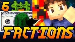 """Minecraft Factions """"CACTUS FARM COMPLETE!"""" Episode 6 Factions w/ Preston and Woofless!"""