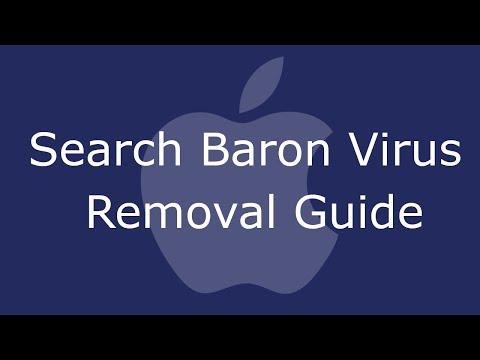 Remove Search Baron Virus