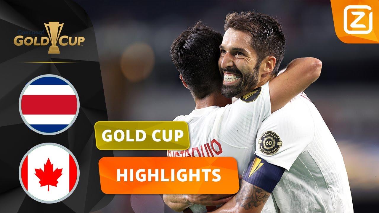 HEERLIJKE ASSIST VAN ACHTERUIT 🤤 | Costa Rica vs Canada | CONCACAF Gold Cup 2021 | Samenvatting