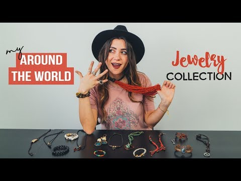 my AROUND THE WORLD JEWELRY collection