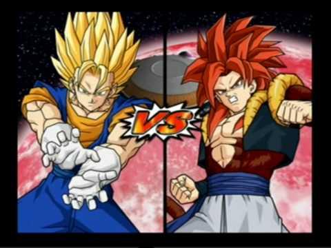 Dragonball z budokai tenkaichi 3 - gogeta vs super vegito (2-Players)