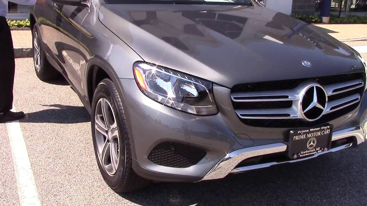2017 Mercedes-Benz GLC300 - Jeff - YouTube