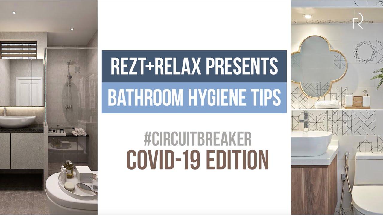 Bathroom Hygiene Tips Rezt Relax Interior Design X Kohler Youtube