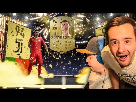 RONALDO IN A PACK PRANK HAHAHA - FIFA 19 ULTIMATE TEAM PACK OPENING