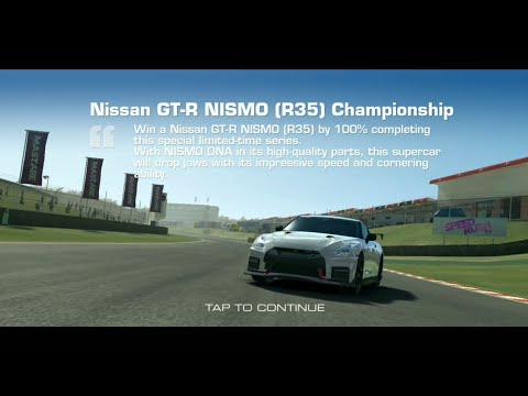 Real Racing 3: NISMO Limited Time Series Ft 2018 Nissan GT-R NISMO: Tier 1